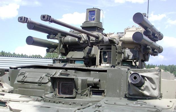 BMP-T Terminator: L'ANP commande un blindé spécialisé dans les combats de rue - Alger La Blanche - Le Portail de l'Algérie