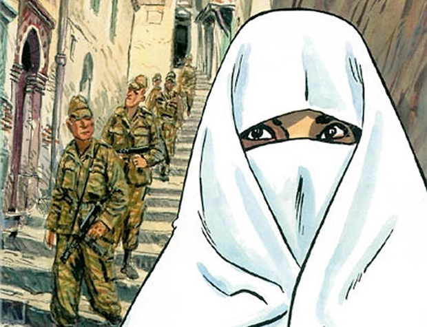 bande dessinee algerie