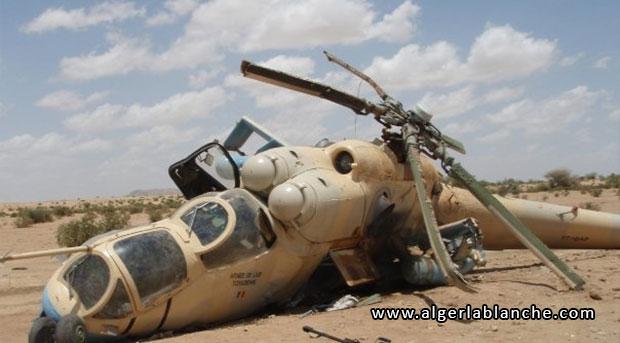 pilote d hélicoptère arme en algérie