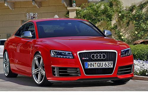 Un bolide attendu : la Audi RS5 - Thematiques Algerlablanche
